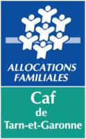 logo allocations familiales CAF de Tarn-et-Garonne